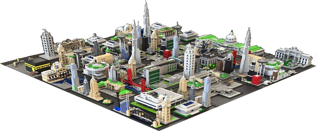 "With 1C you can develop a unique ""Lego city"", which is nowhere else!"